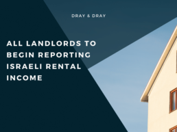All landlords to begin reporting Israeli rental income