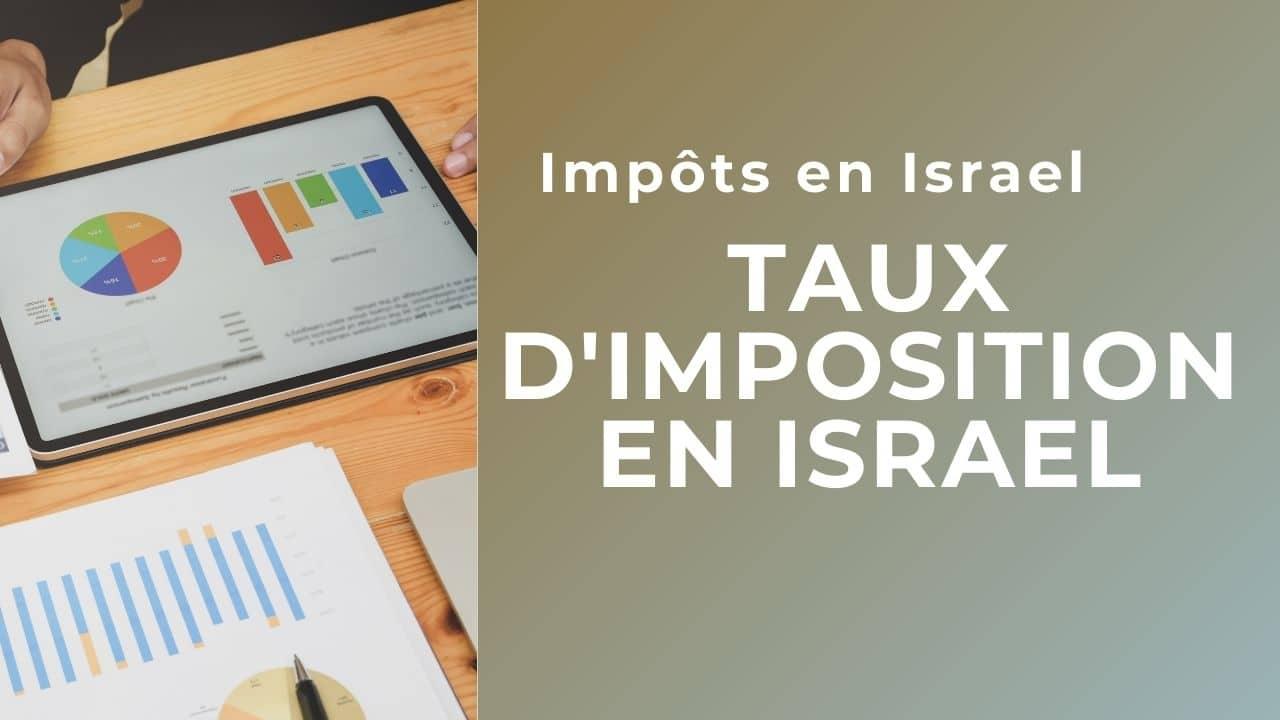 Taux d'imposition en Israel